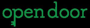 Open Door Logo (Green_Black Text)