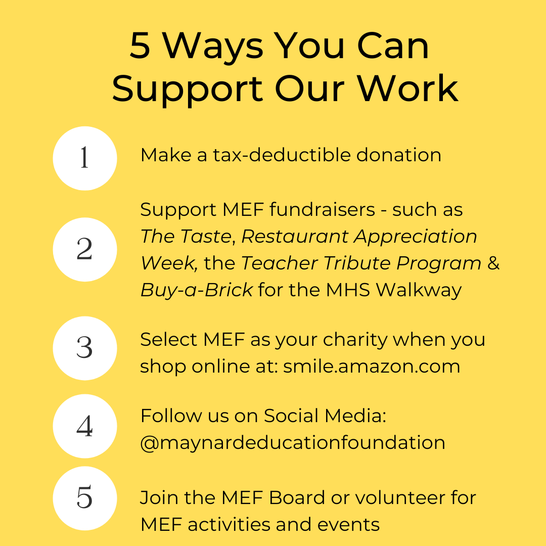 5 Ways to Support our Work